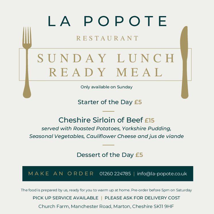 Sunday Roast ReadyMeal